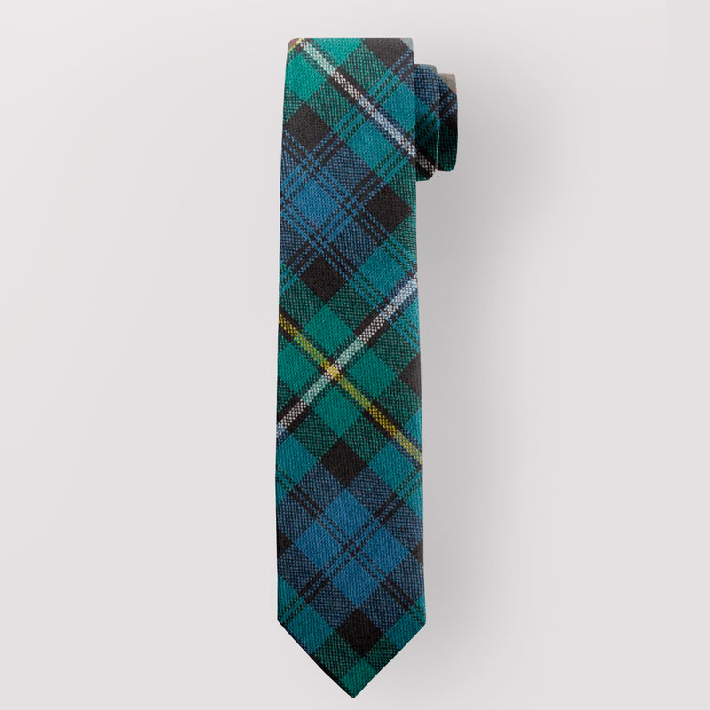 Pure Wool Tie in Campbell or Argyll Ancient Tartan