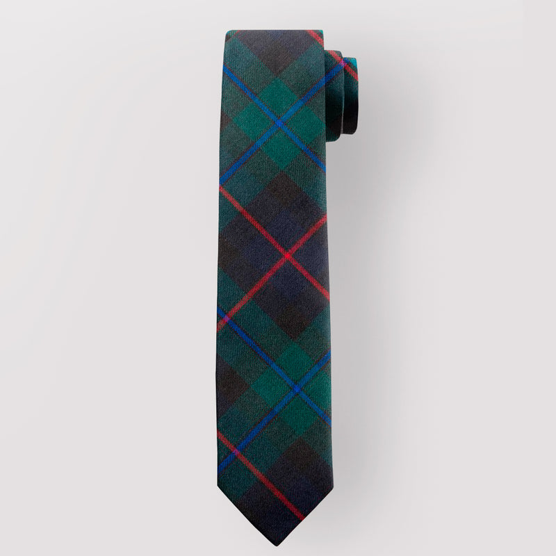 Pure Wool Tie in Campbell of Cawdor Modern Tartan.