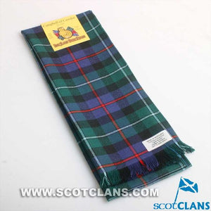 Wool Scarf in Campbell of Cawdor Modern Tartan