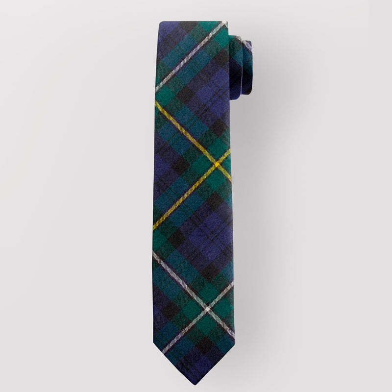 Pure Wool Tie in Campbell of Loudon Modern Tartan