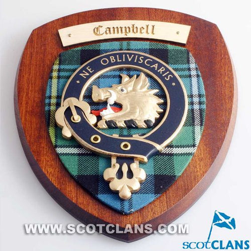 Campbell Clan Crest Plaque