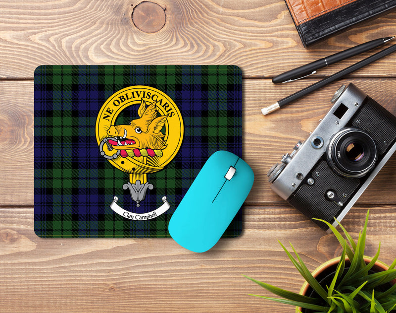 Campbell Clan Crest Mouse Pad