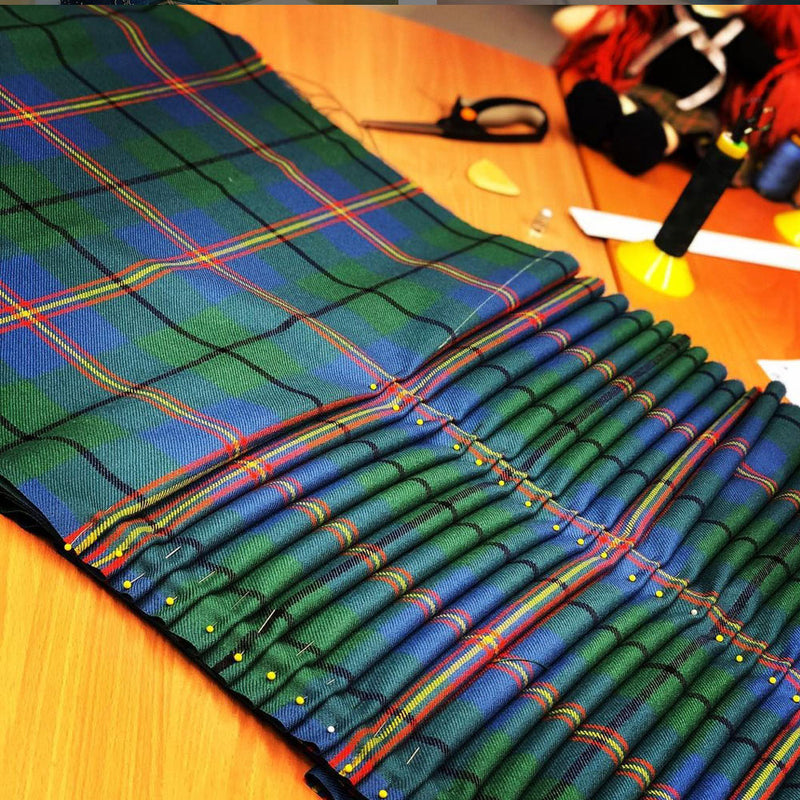 Carmichael Ancient Heavyweight Hand Stitched Kilt