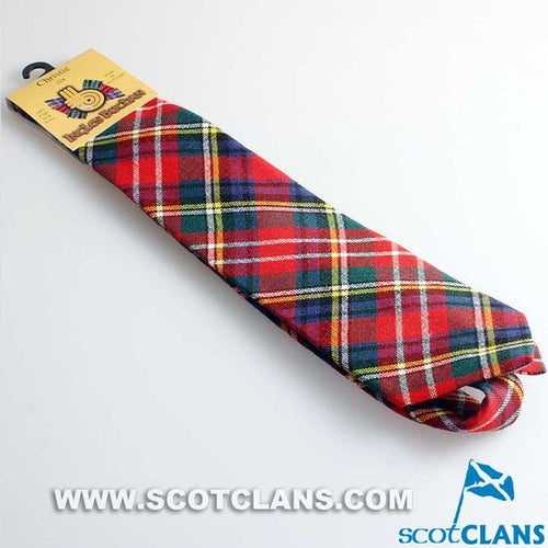 Pure Wool Tie in Christie Modern Tartan