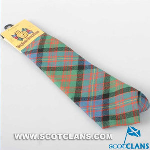Pure Wool Tie in Cochrane Ancient Tartan