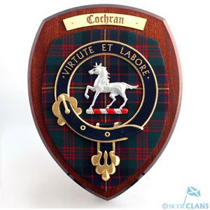 Cochrane Clan Crest Plaque