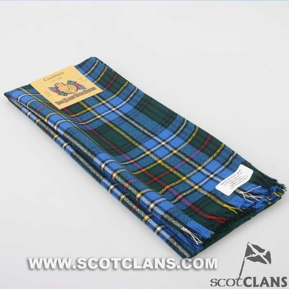 Wool Scarf in Cockburn Tartan