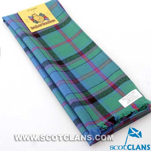 Wool Scarf in Cooper Ancient Tartan