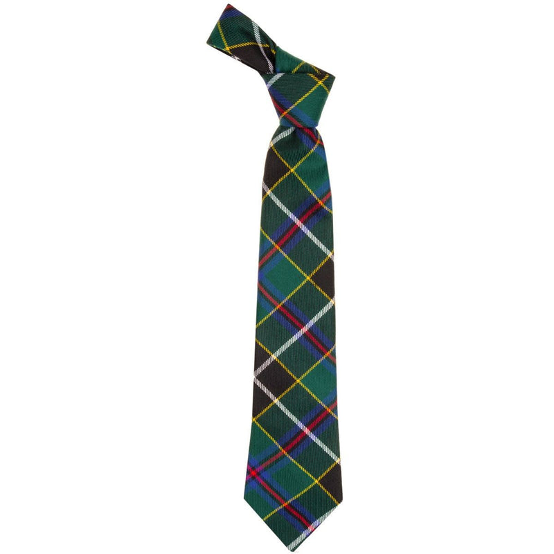 Luxury Pure Wool Tie in Cornish Hunting Modern