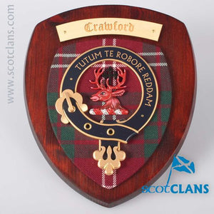 Crawford Clan Crest Plaque
