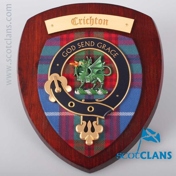 Crichton Clan Crest Plaque