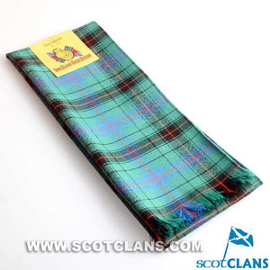 Wool Scarf in Davidson Ancient Tartan