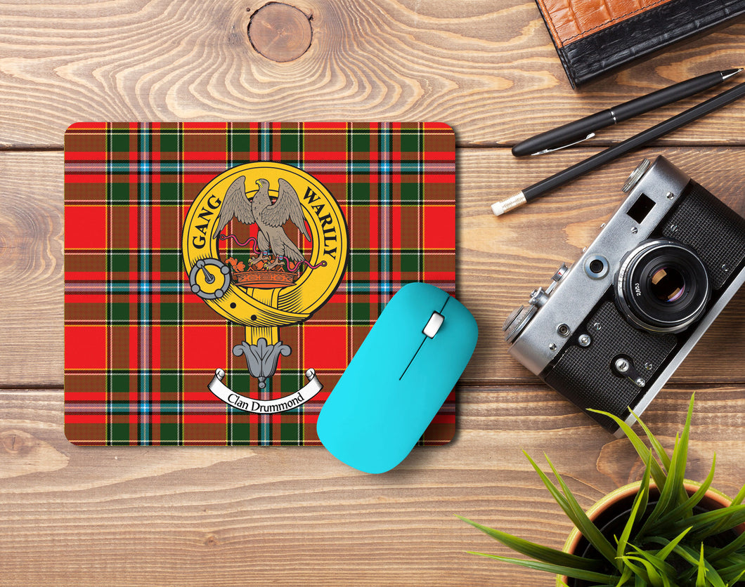 Drummond Clan Crest Mouse Pad