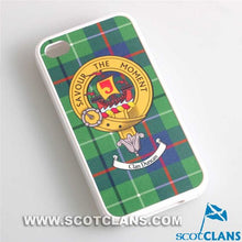 Duncan Tartan and Clan Crest iPhone Rubber Case - 4 - 7