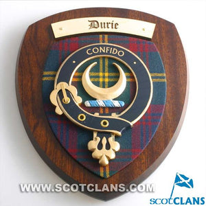 Durie Clan Crest Plaque
