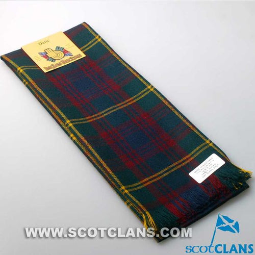 Wool Scarf in Durie Tartan