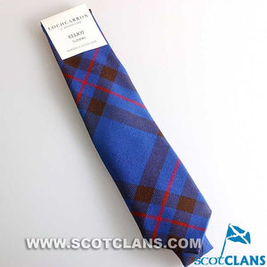 Pure Wool Tie in Elliot Modern Tartan