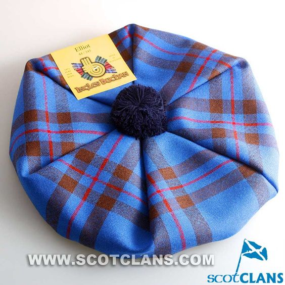 Unisex Wool Tam in Elliot Tartan