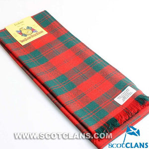 Wool Scarf in Erskine Ancient Tartan