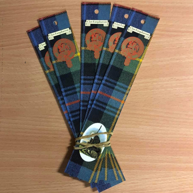 Farquharson Clan Bookmarks 5 Pack