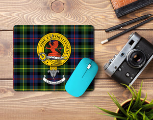 Farquharson Clan Crest Mouse Pad