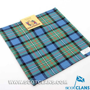 Wool Tartan Pocket Square in Ferguson Ancient Tartan