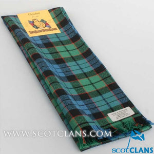 Wool Scarf in Fletcher Ancient Tartan