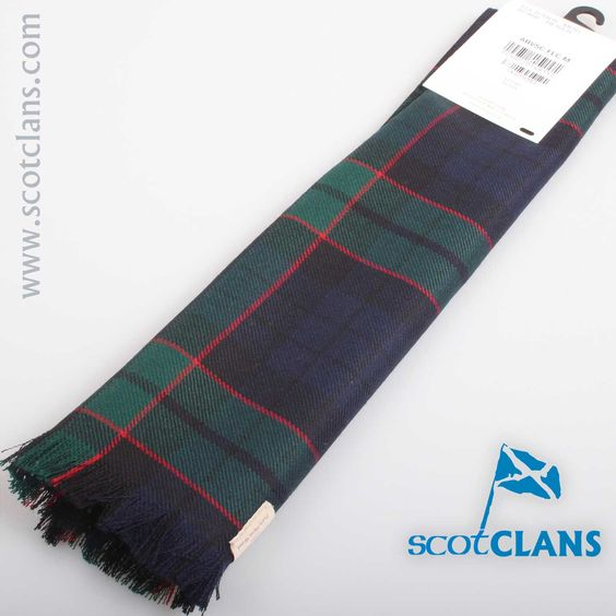 Luxury Lightweight Scarf in Fletcher Modern Tartan