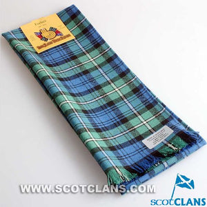 Wool Scarf in Forbes Ancient Tartan