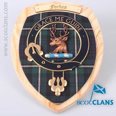 Forbes Clan Crest Plaque