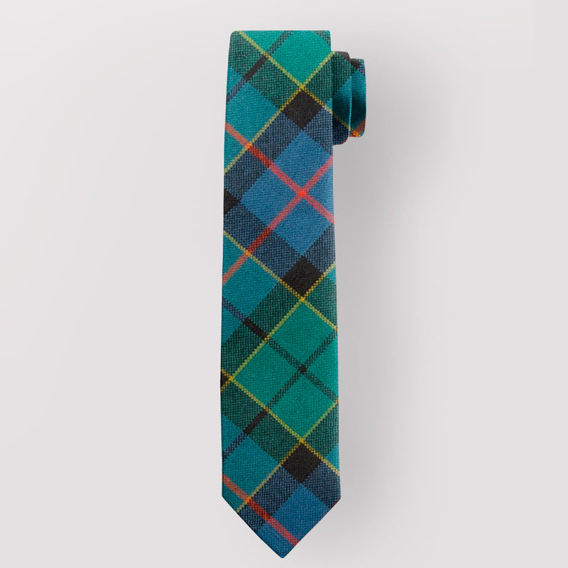 Pure Wool Tie in Forsyth Ancient Tartan.