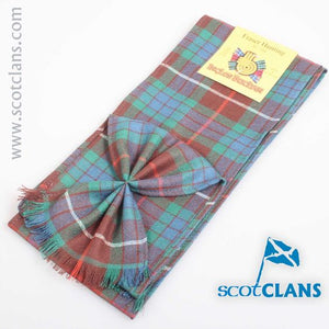 Wool Tartan Mini Sash in Fraser Hunting Ancient Tartan