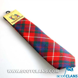 Pure Wool Tie in Fraser of Lovat Modern Tartan