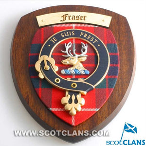 Fraser of Lovat Clan Crest Plaque