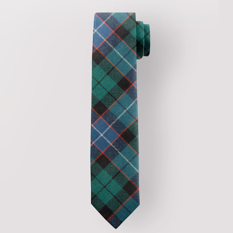 Pure Wool Tie in Russell Ancient Tartan.