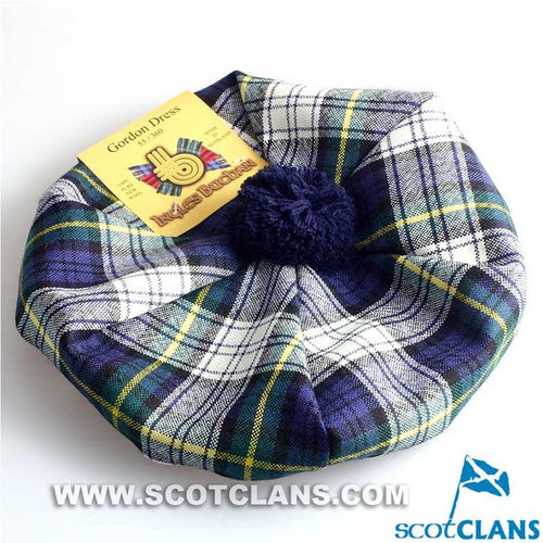 Unisex Wool Tam in Gordon Dress Tartan