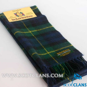 Lambswool Scarf in Gordon Modern Tartan
