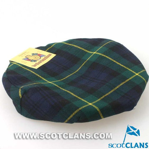 Pure Wool Golf Cap in Gordon Modern Tartan