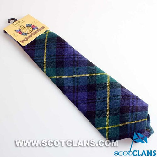 Pure Wool Tie in Gordon Modern Tartan