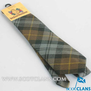 Pure Wool Tie in Gordon Weathered Tartan