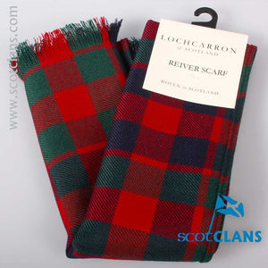 Luxury Lightweight Scarf in Gow Modern Tartan