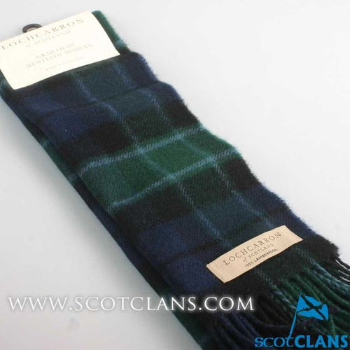Lambswool Scarf in Graham of Monteith Modern Tartan