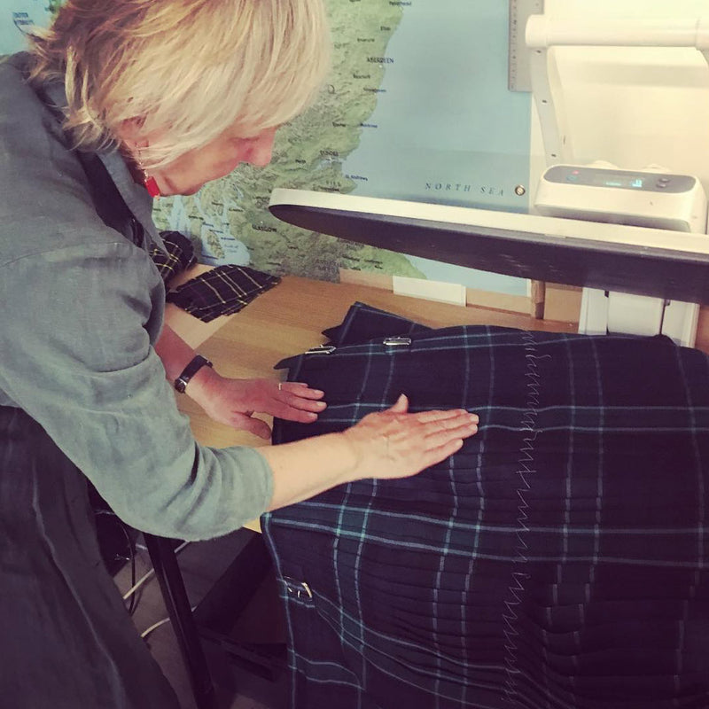 Graham of Menteith Modern Heavyweight Hand Stitched Kilt
