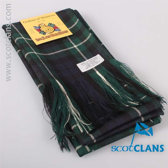 Wool Tartan Full Length Sash in Graham Modern Tartan