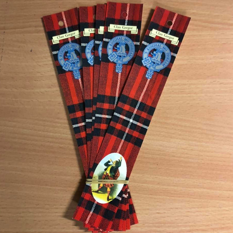 Gregor Clan Bookmarks 5 Pack