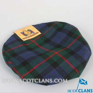 Pure Wool Golf Cap in Gunn Modern Tartan