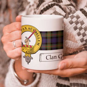 Gunn Clan Crest and Tartan Mug