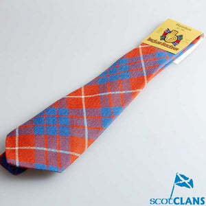 Pure Wool Tie in Hamilton Ancient Tartan