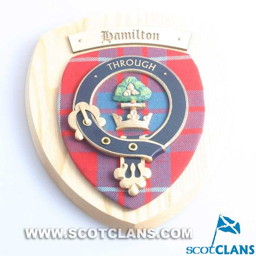 Hamilton Clan Crest Plaque