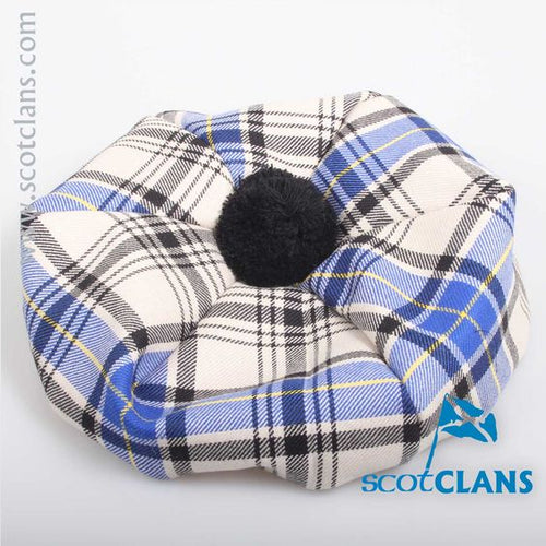 Luxury Unisex Wool Tam in Hannay Tartan